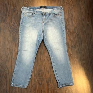 Torrid Premium denim jeans Sz 20 Skinny 42x26